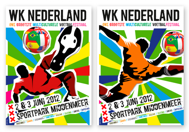WK Nederland Poster