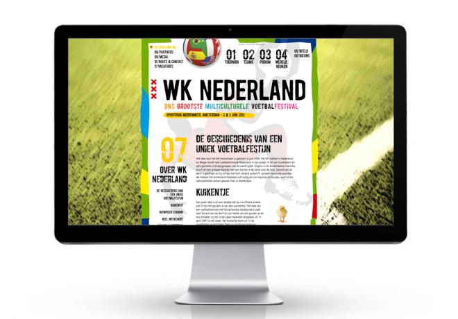 WK Nederland Website