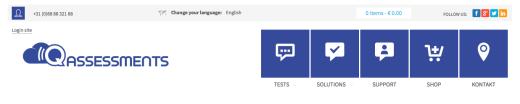 PICADIA ontwikkelt nieuwe webshop voor Q-Assessments