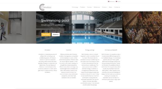 Webshop voor Climotion.com