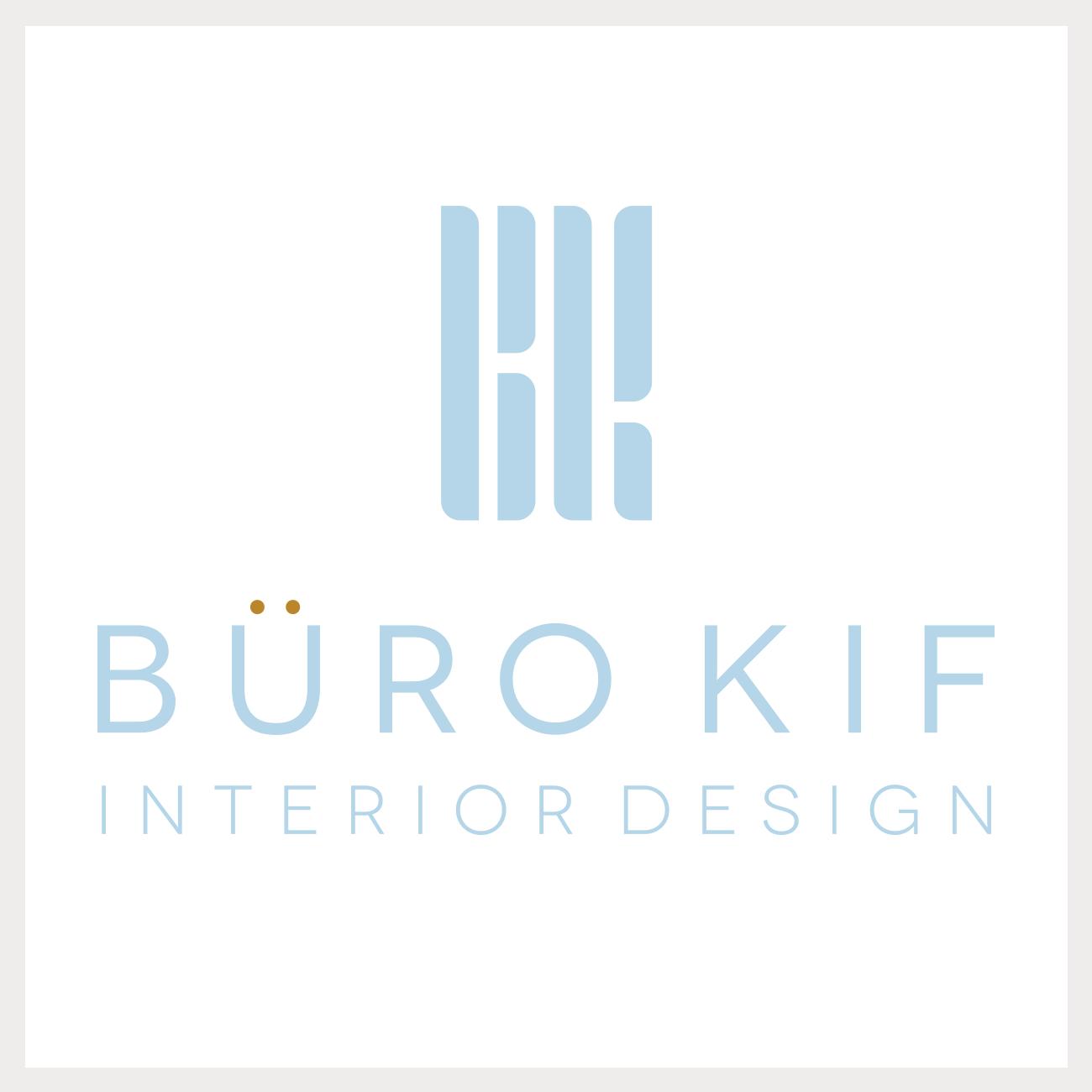 Identiteit voor büro KIF - interior design