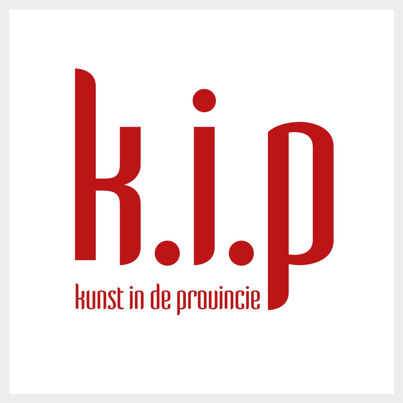 Logo voor het culturele magazine K.I.P.