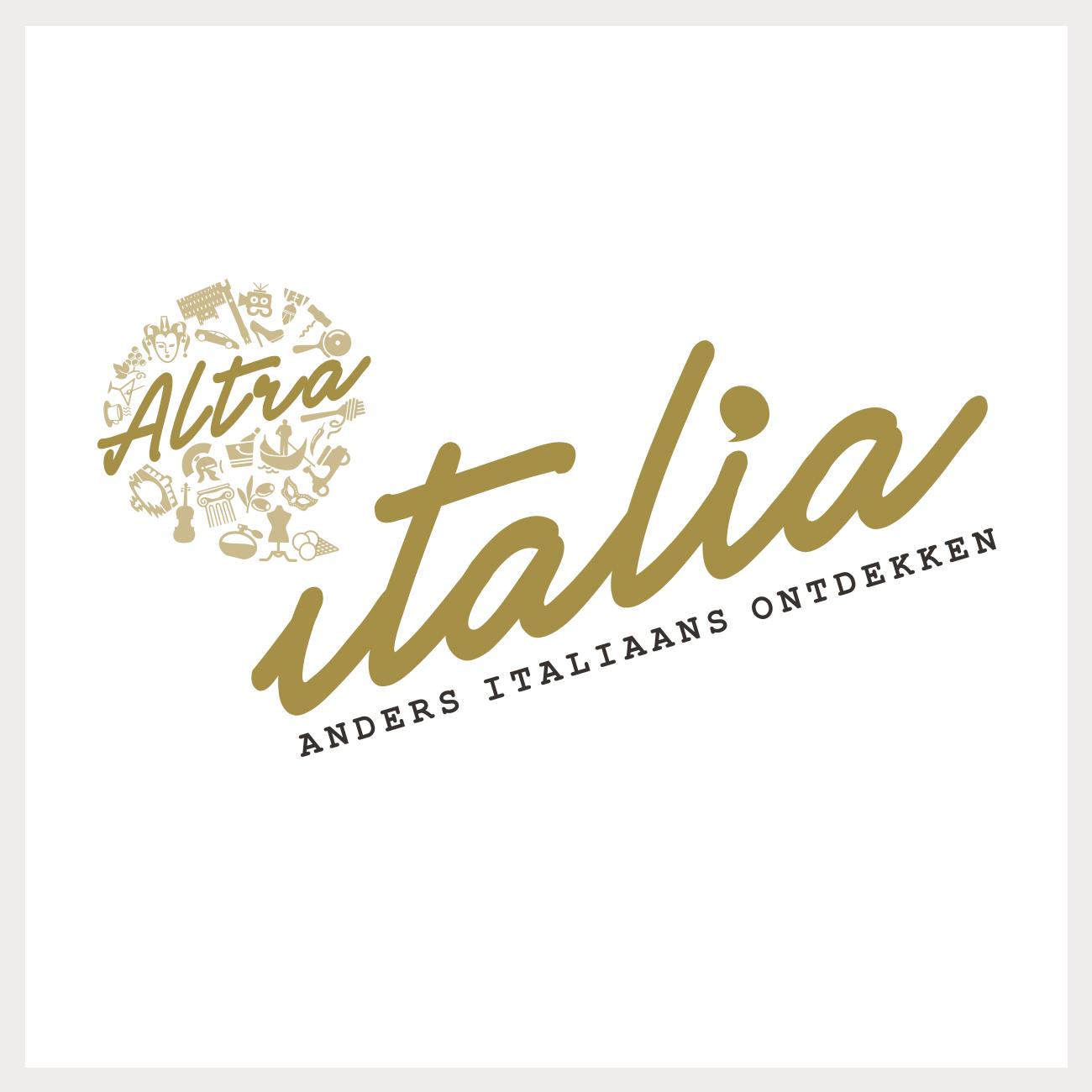 Logo voor een italiaanse talenschool