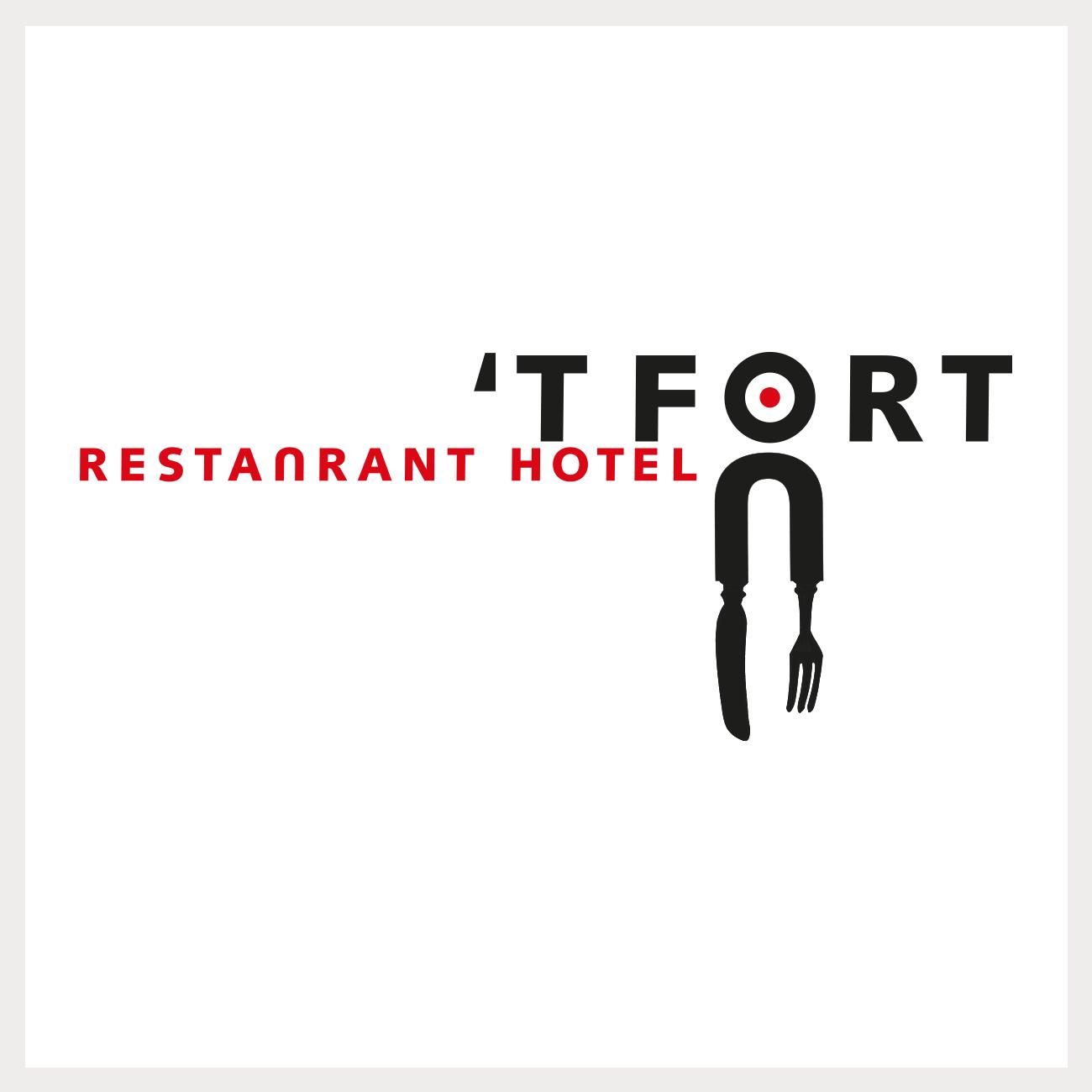 Logo voor het Restaurant & Hotel 't Fort
