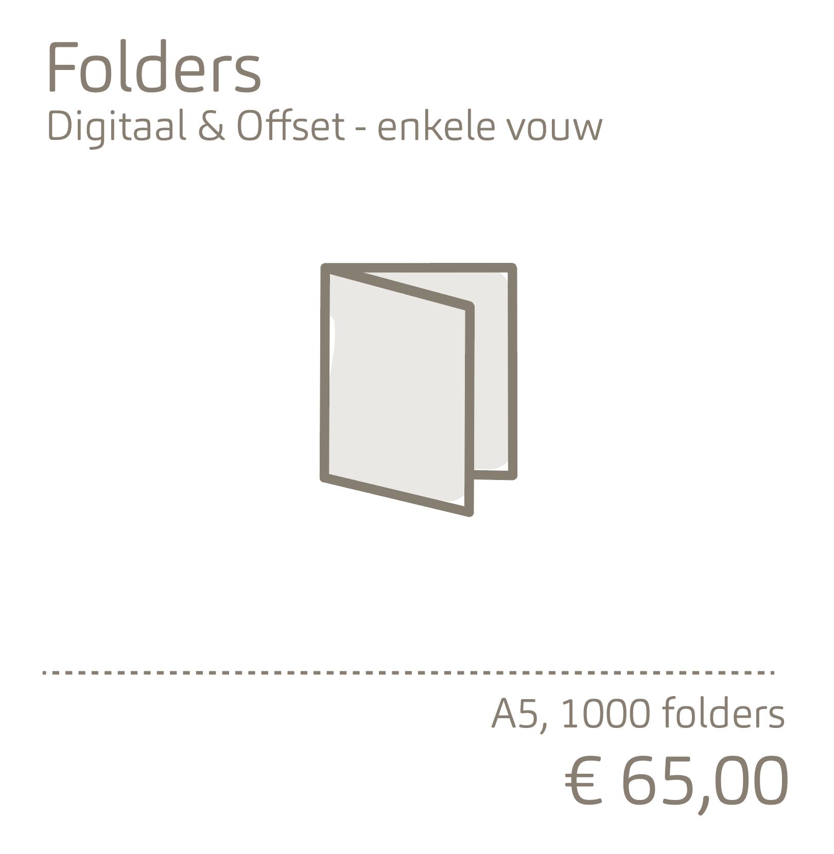 Folders-enkele vouw