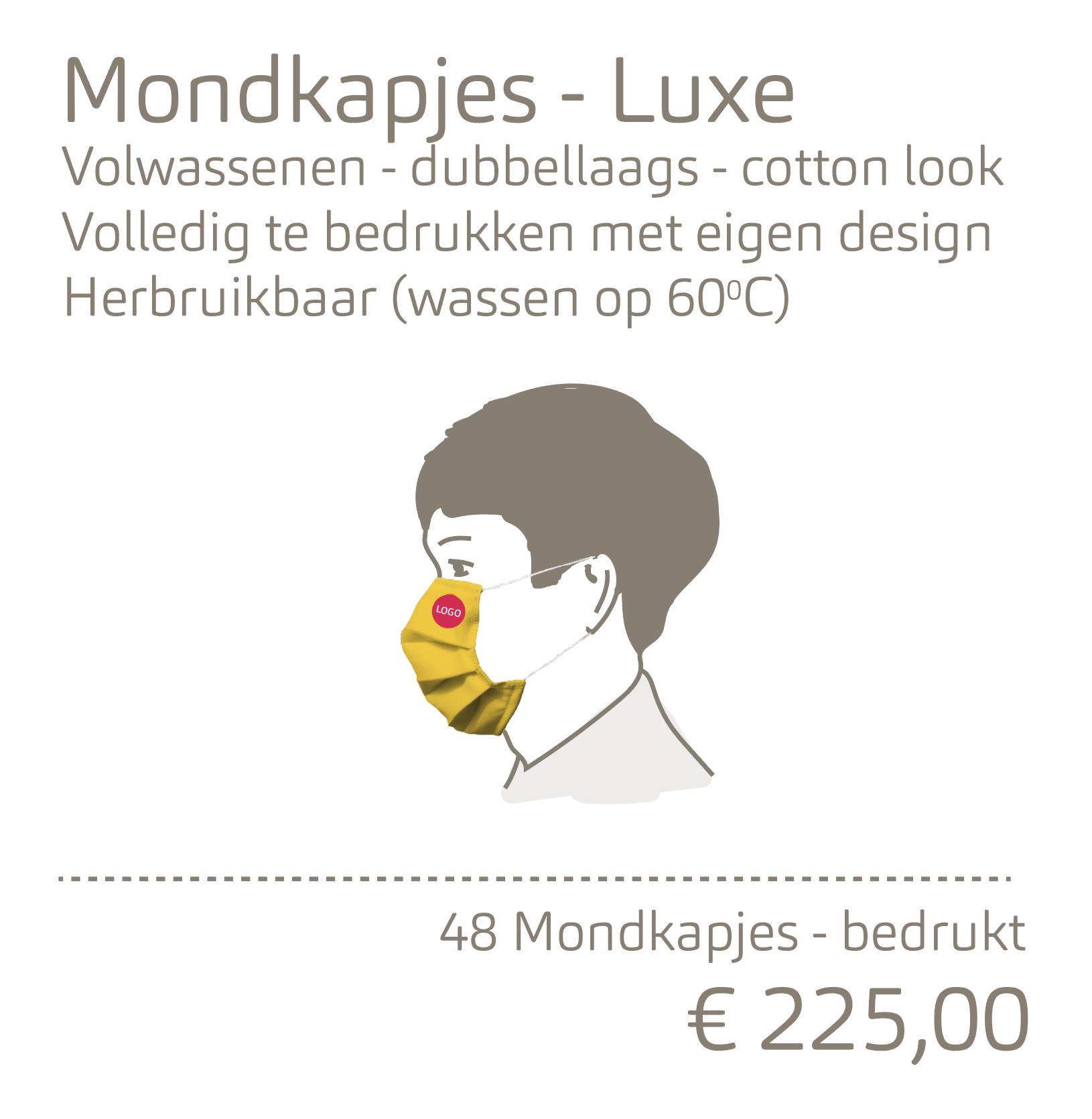 Mondkapjes-Luxe